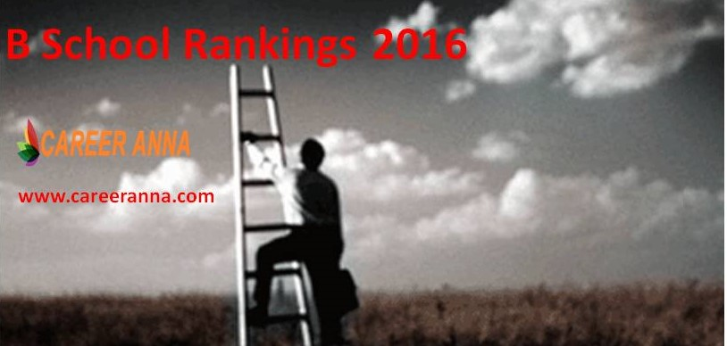 Career Anna B School Rankings 2016 | Top MBA Colleges