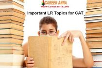 Important LR Topics for CAT XAT IIFT SNAP NMAT