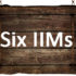Comparison and Ranking of 6 new IIMs