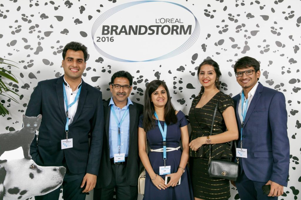 imt ghaziabad students represented india at l 39 oreal brandstorm in paris. Black Bedroom Furniture Sets. Home Design Ideas