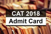 CAT 2018 admit card released at 1 pm on 24 Oct, 2018