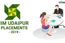 IIM Udaipur Placement 2019