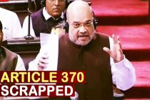 Jammu & Kashmir Article 370 Scrapped