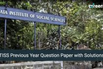 TISS Previous Year Question Paper with Solutions