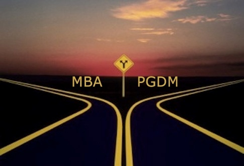 Difference between MBA and PGDM