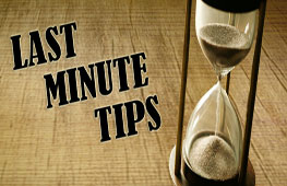 Last Minute Tips for SBI PO Prelims 2015