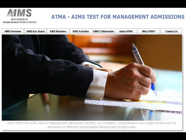 ATMA 2015 Exam Dates Announced