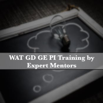 WAT GD GE PI Training by Expert Mentors